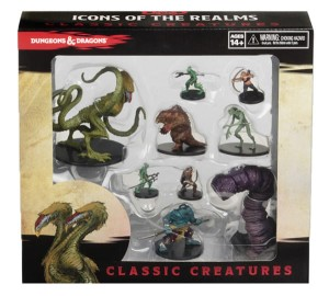 Dungeons & Dragons: Icons of the Realms: Classic Creatures Box Set