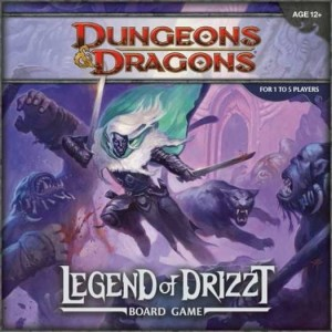 D&D: Legend of the Drizzt Board Game