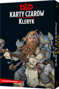 D&D: Karty Czarów - Kleryk (Dungeons and Dragons RPG)
