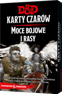 D&D: Karty Czarów  - Moce bojowe i rasy (Dungeons and Dragons RPG)