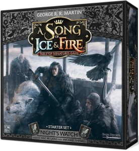 A Song of Ice and Fire: Tabletop Miniatures Game - Night's Watch Starter Set