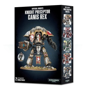 Warhammer 40,000: Imperial Knight Preceptor Canis Rex