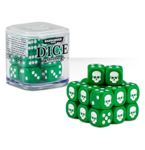 Citadel Green Dice Cube (12mm D6)