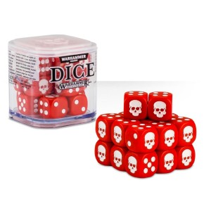 Citadel Red Dice Cube (12mm D6)