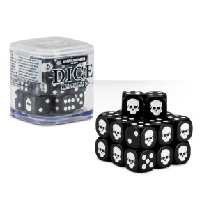 Citadel Black Dice Cube (12mm D6)