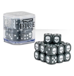 Citadel Grey Dice Cube (12mm D6)