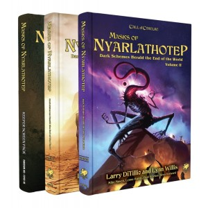 Call of Cthulhu 7th Edition RPG: Masks of Nyarlathotep Slipcase Set