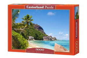 Puzzle 3000 Tropical Beach, Seychelles