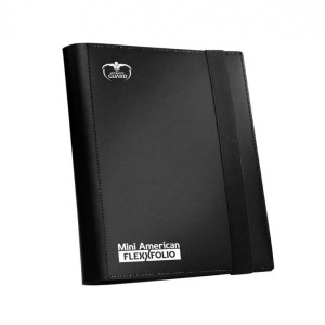 Klaser Ultimate Guard Mini American 9-Pocket FlexXfolio Black