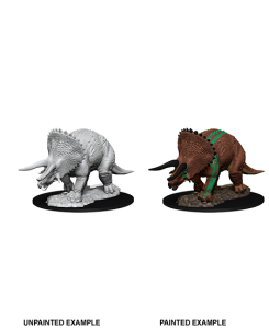 D&D RPG: Nolzur's Marvelous Miniatures - Triceratops (Dungeons and Dragons RPG)