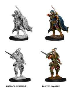 D&D RPG: Nolzur's Marvelous Miniatures - Male Elf Rogue (Dungeons and Dragons RPG)
