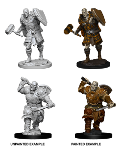 D&D RPG: Nolzur's Marvelous Miniatures Male Goliath Fighter