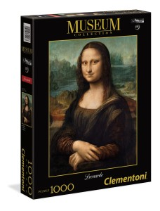 Puzzle 1000 Museum Collection: Mona Lisa