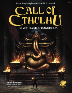 Call of Cthulhu RPG Investigator Handbook (7th Ed.) Hardcover