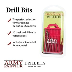 Army Painter: wiertła (Drill Bits)