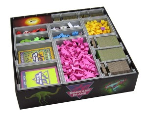 Folded Space: organizer do gry Dinosaur Island lub dodatku Totally Liquid