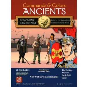 Commands & Colors: Ancients Expansion Combo Pack #2 & #3, (2nd Printing)