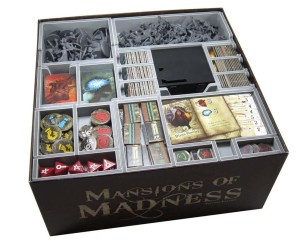 Folded Space: organizer do gry Posiadłość Szalestwa (Mansions of Madness)