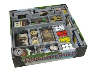 Folded Space: organizer do gry Robinson Crusoe