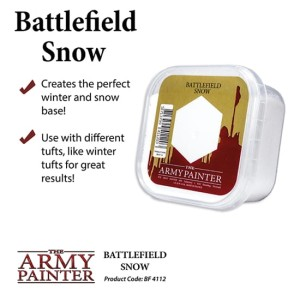 Army Painter: Battlefield - Snow