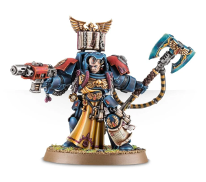 Warhammer 40,000: Blood Angels Librarian in Terminator Armour