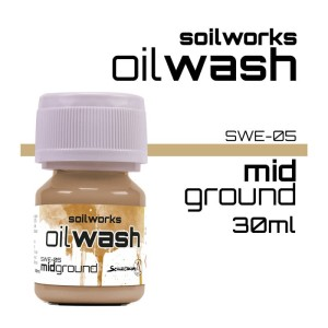 Scale75 Soil works: Mid Ground / Earth oil wash