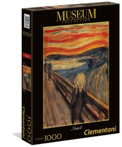 Puzzle 1000 Museum Collection: Munch - The Scream