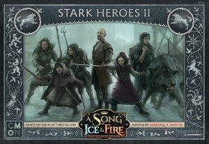 A Song of Ice and Fire: Tabletop Miniatures Game - Stark Heroes #2