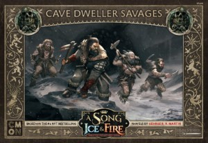 A Song of Ice and Fire: Tabletop Miniatures Game - Cave Dweller Savages