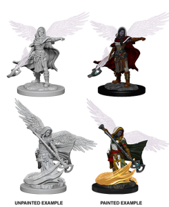 D&D RPG: Nolzur's Marvelous Miniatures - Aasimar Wizard (Dungeons and Dragons RPG)