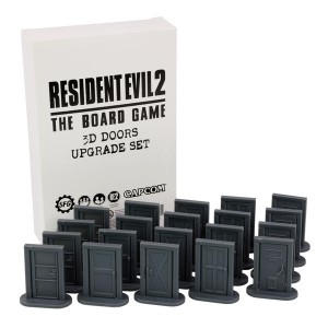 Resident Evil 2: The Board Game - 3D Door Upgrade