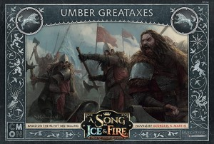 A Song of Ice and Fire: Tabletop Miniatures Game - Umber Greataxes