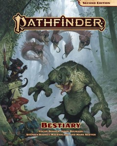 Pathfinder RPG: Bestiary (second edition)