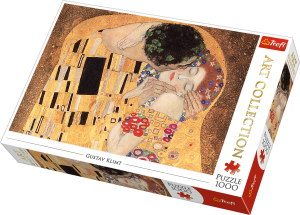 Puzzle 1000 Art Collection - Pocałunek Gustav Klimt