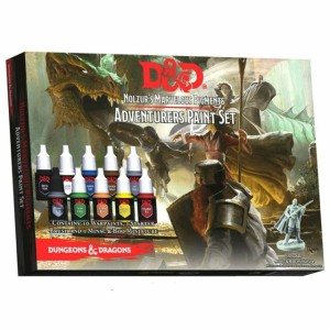 Army Painter: Adventurers Paint Set (D&D Nolzur's Marvelous Pigments)