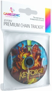 Gamegenic: KeyForge - Premium Untamed Chain Tracker