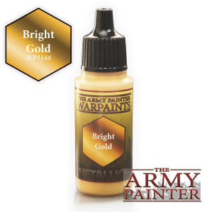 Army Painter: Metallics Warpaints - Bright Gold