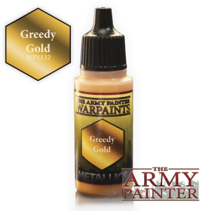Army Painter: Metallics Warpaints - Greedy Gold