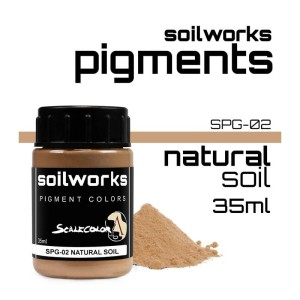 Scale75 Soil works: Natural Soil pigment