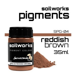 Scale75 Soil works: Reddish Brown pigment