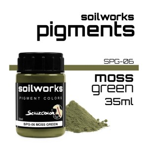 Scale75 Soil works: Moss Green pigment