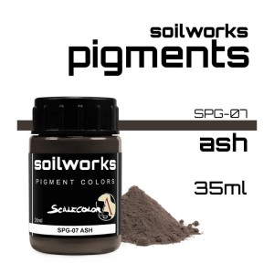 Scale75 Soil works: Ash pigment