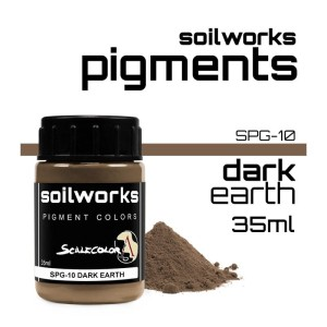 Scale75 Soil works: Dark Earth pigment