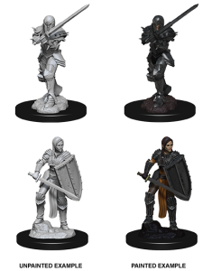 D&D RPG: Nolzur's Marvelous Miniatures - Female Human Fighter (Dungeons and Dragons RPG)
