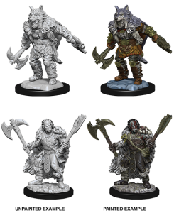 D&D RPG: Nolzur's Marvelous Miniatures - Male Half-Orc Barbarian (Dungeons and Dragons RPG)