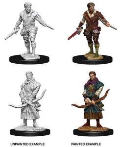 D&D RPG: Nolzur's Marvelous Miniatures - Male Human Rogue (Dungeons and Dragons RPG)