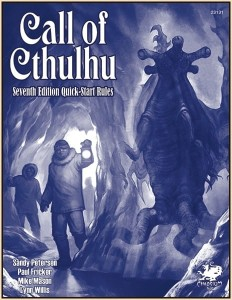 Call of Cthulhu 7th Edition RPG: Quick-Start Rules