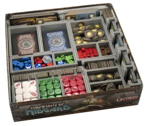 Folded Space: organizer do gry Wojownicy z Midgardu (Champions of Midgard)