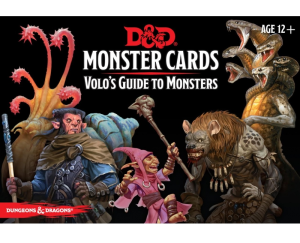 D&D RPG: Monster Cards Volos Guide to Monsters (Dungeons and Dragons RPG)