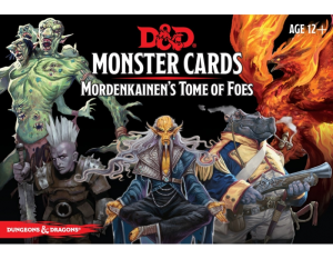 D&D RPG: Monster Cards Mordenkainen's Tome of Foes (Dungeons and Dragons RPG)